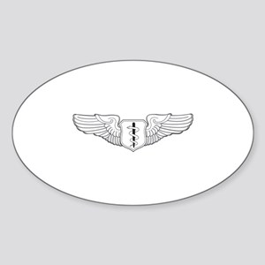 Flight Surgeon Oval Sticker